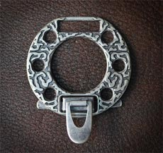 пряжка №58, старое серебро