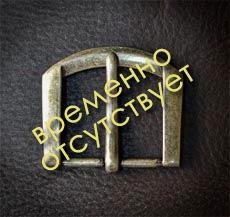 пряжка №62, старое серебро