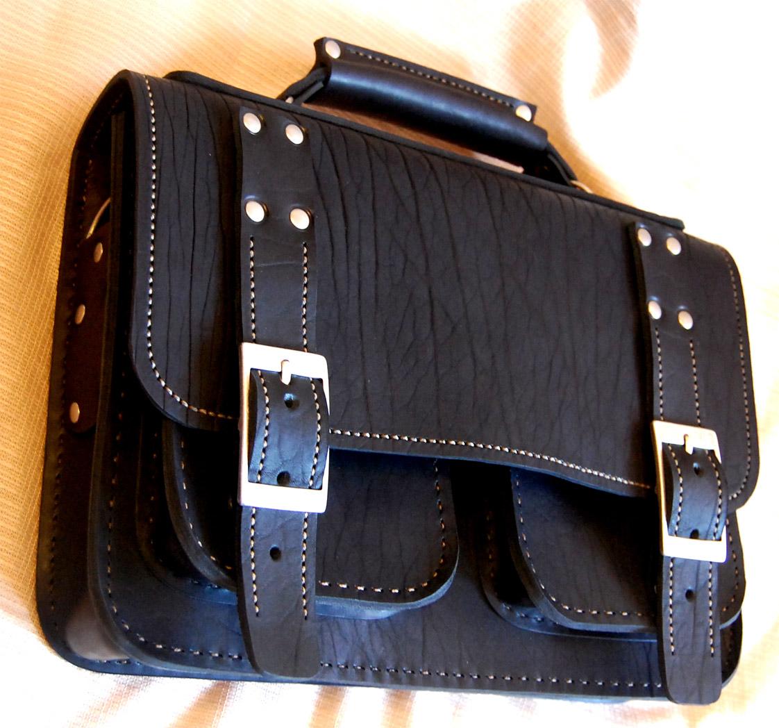 Кожаный портфель своими руками МозгоЧины 17